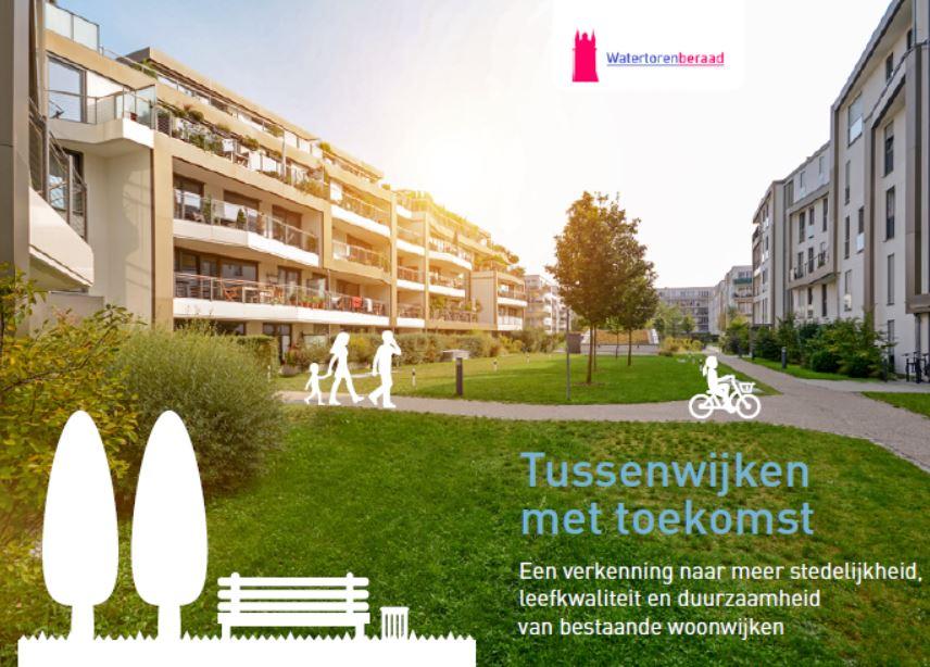 <p>Een verkenning naar meer stedelijkheid, leefkwaliteit en duurzaamheid van oudere woonwijken. In de Tussenwijken wonen vele mensen die een betere woon-, leef- enontplooiomgeving verdienen. Bovendien is er nog ruimte voor duizendenNederlanders. Ruimte om te wonen en te leven op potentieel waardevolleplekken in de bestaande stad. We noemen deze plekken Tussenwijken […]</p>